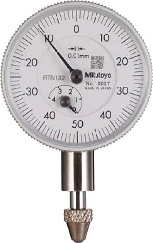 Mitutoyo Dial Indicator 4mm x 0.01mm