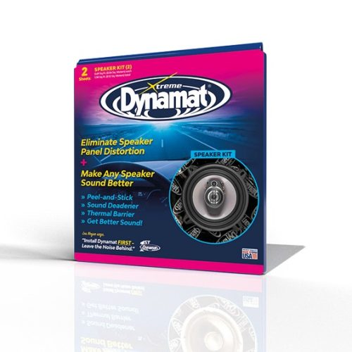 DYNAMAT - DYNAMAT XTREME SPEAKER KIT (250MM X 250MM) 2 SHEETS