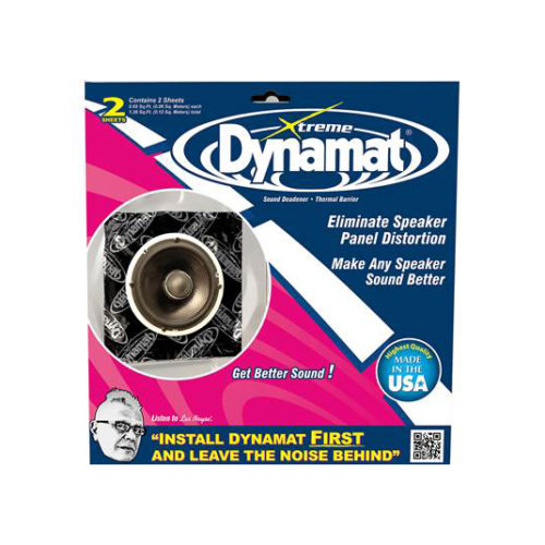 DYNAMAT - DYNAMAT XTREME SPEAKER KIT (250MM X 250MM) 2 SHEETS