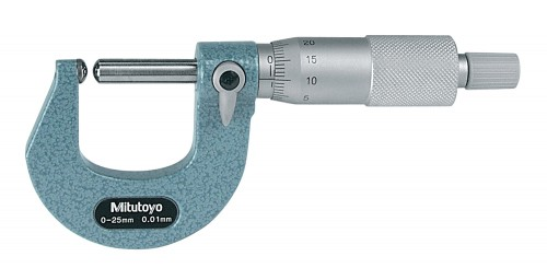 Mitutoyo Tube Micrometer 0-25 x 0.01mm Sph/Sph