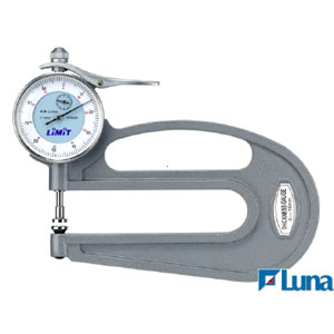 LiMiT DIAL THICKNESS GAUGE - 0-10x120MM**