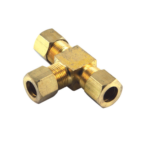 Champion 1/4in BSP Brass 'T' Union Connector (BP)