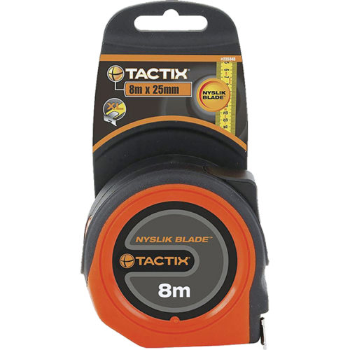 Tactix Tape Measure 8m x 25mm