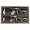 "Mitutoyo Set Digimatic Micrometers 0 - 4""/0 - 100mm"