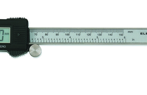 GearWrench Digital SAE/Metric Caliper With Large LCD Window 150mm/6""