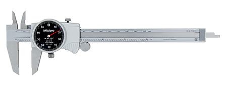 Mitutoyo 150mm x 0.01mm Dial Vernier Caliper