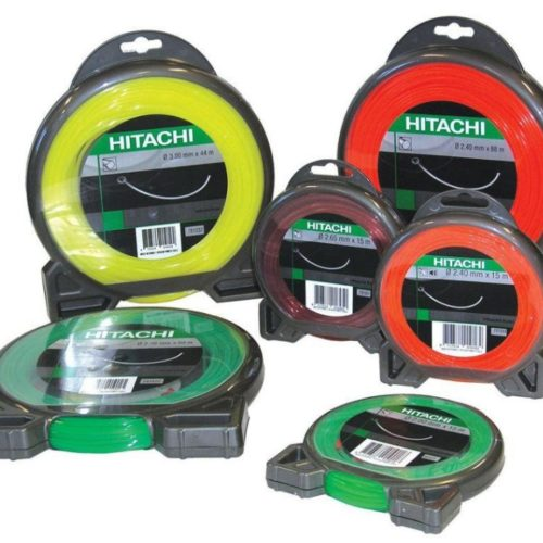 Hitachi 126m Helicoidal Line Trimmer Line (2.00mm) Single Item