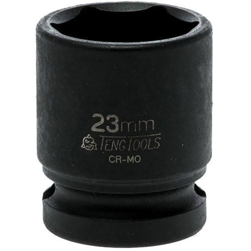 Teng 1/2in Dr. Impact Socket 23mm DIN