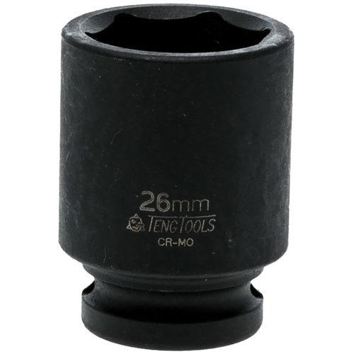 Teng 1/2in Dr. Impact Socket 26mm DIN