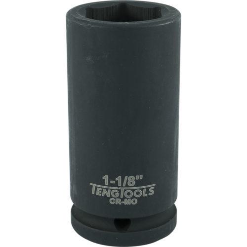 Teng 3/4in Dr. Deep Impact Socket 1-1/8in