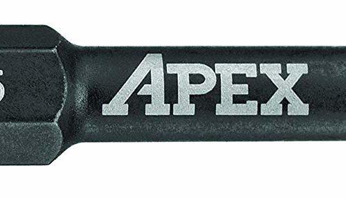 """APEX Industrial 2"""" TORX Power Drive Bit T25 - 2 Pack"""