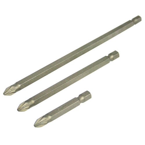 Screwdriver Bit Pozi #1 150mm 2 per Card