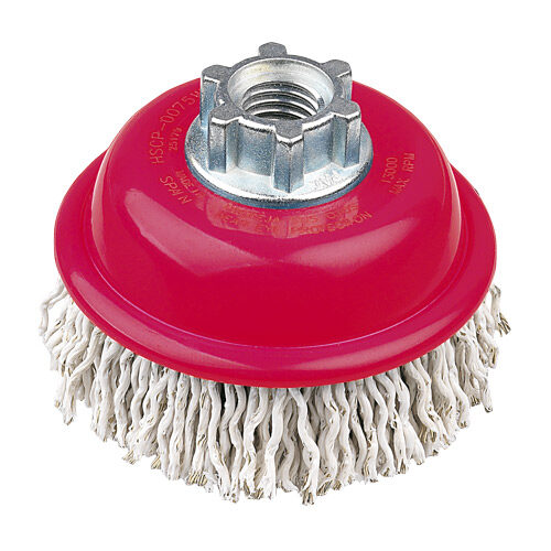 Cup Brush High Speed 75mm x 22mm - M14 x 2 - Laminated Wire (BRUH-075ML)