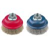 Cup Brush High Speed 75mm x 22mm x 0.3mm - M14 x 2 - Stainless Steel (BRUH-7514S)