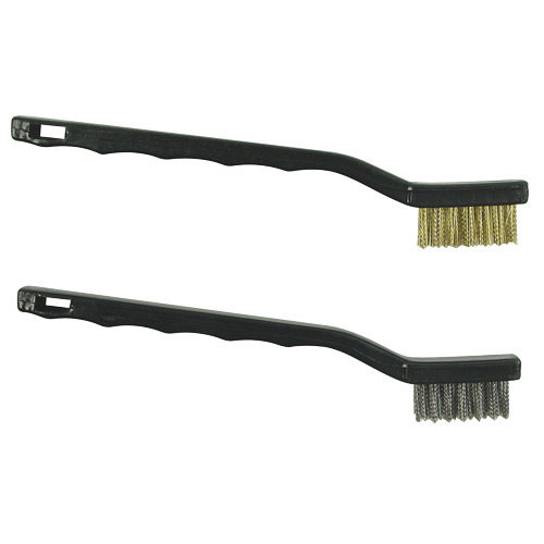 BRBRD178 Mini Wire Brush Brass