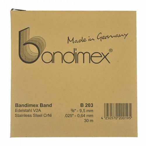 Bandimex B203 Band 3/8in x 30m (ea)