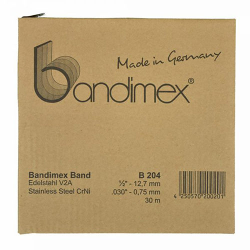 Bandimex B204 Band 1/2in x 30m (ea)