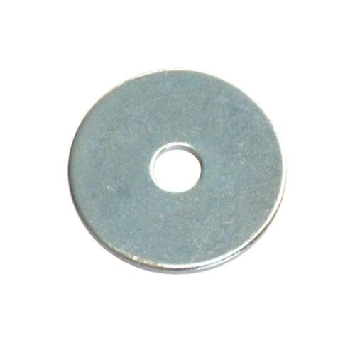 1/4 X 1-1/4IN FLAT STEEL PANEL (BODY) WASHER (Zn)