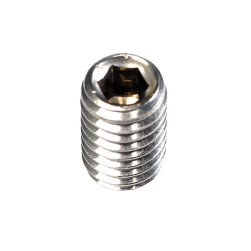 Champion 1/4in x 1/4in BSW Grub Screw 316/A4 -10pk