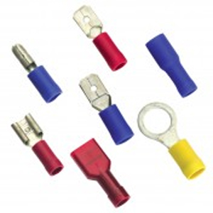 Champion 5/32in / 4mm Blue Spade Terminal -10pk