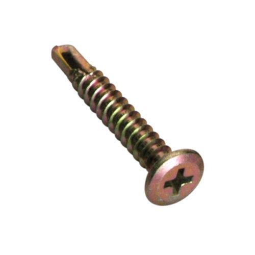 Champion 8G x 12mm Mushroom Head S/Drilling Screw Ph -50pk