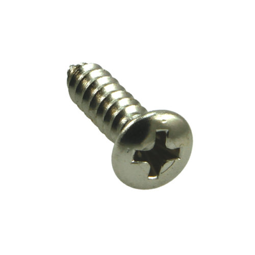 Champion 6G x 1in S/Tapping Screw Rsd Hd Phillips -100pk