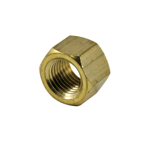 Champion 1/4in UNC Brass Manifold Nut -4pk