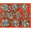 Champion 240pc Metric/UNC Wing Nut Assortment (Zinc)
