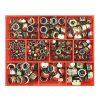 270PC METRIC NYLON INSERT SELF-LOCKING NUT ASSORT