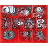 330PC MM/SAE FLAT STEEL WASHER ASSORTMENT (ZINC)