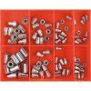 Champion 80pc Rivet Nut Insert Assortment (Aluminium)