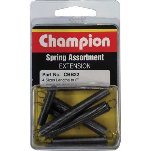 Champion 8Pc Extension Spring Assortment