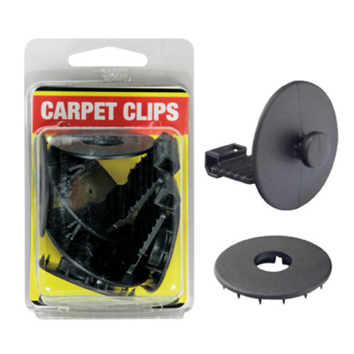 Champion Carpet Clips - Set Of 2 (Black)