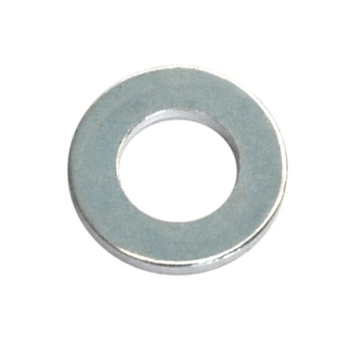 Champion 1/2in x 1in x 14G H/Duty Flat Steel Washer - 100pk