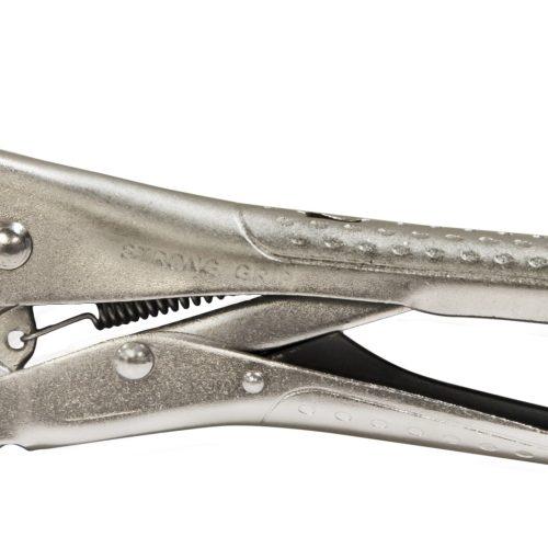 PLN50  Long Nose Pliers Crank Handle Parallel opening 5mm OAL 205mm