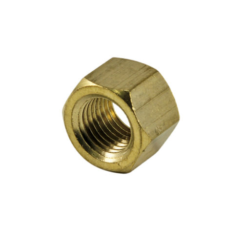 Champion 3/8in UNC Brass Manifold Nut - 25pk
