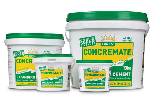 Earls Concremate 500G