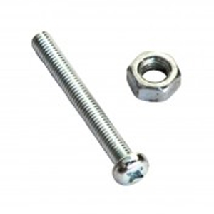 Champion 316/A4 Machine Set Screw & Nut - Csk 6 x 25 (A)