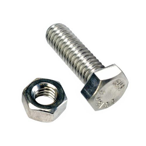 Champion 1in x 8/36in Screw & Nut - 100pk