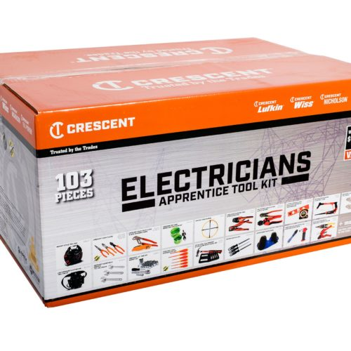 Crescent 103pc Apprentice Tool Kit Electrician :A