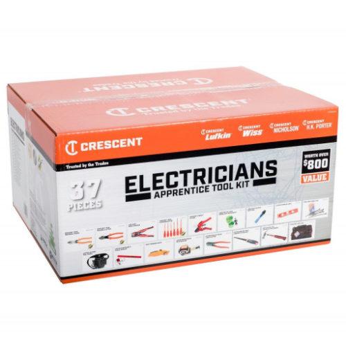 Crescent 37Pc Electricians Apprentice Tool Set