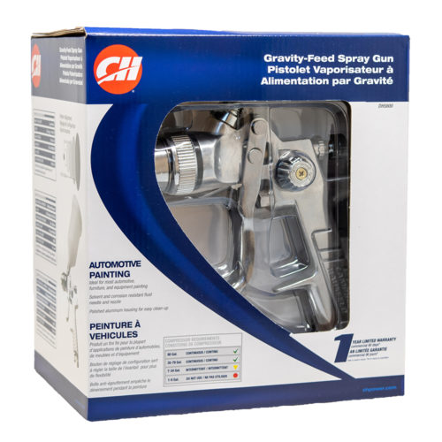 CAMPBELL HAUSFELD - CAMPBELL HAUSFELD SPRAY GUN 1.4MM GENERAL PURPOSE GRAVITY