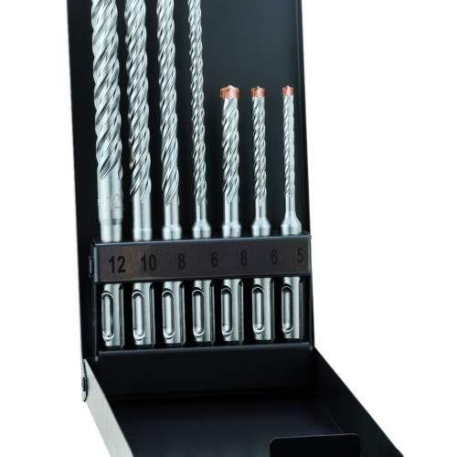 Alpen Series 805 Force X SDS-Plus Masonary Drill Set KM7 7pce