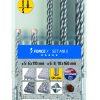 Alpen Series 805 Force X SDS-Plus Masonary Drill Set MB5 5pce