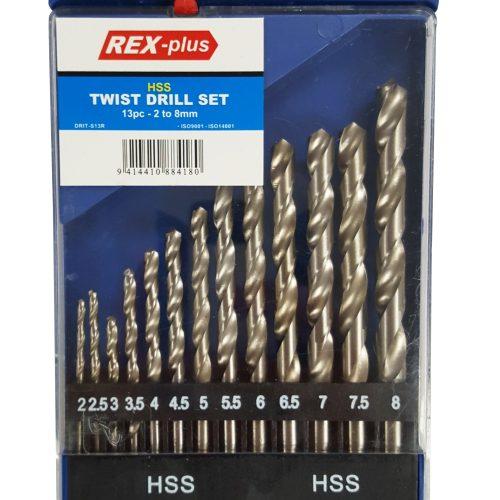 HSS4241 Twist Drill Set 2 - 8mm 13pc