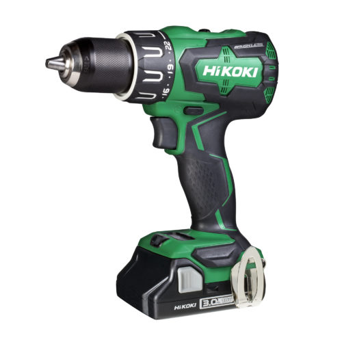 HiKOKI 18V Brushless Compact Impact Drill - 3AH Compact Batteries