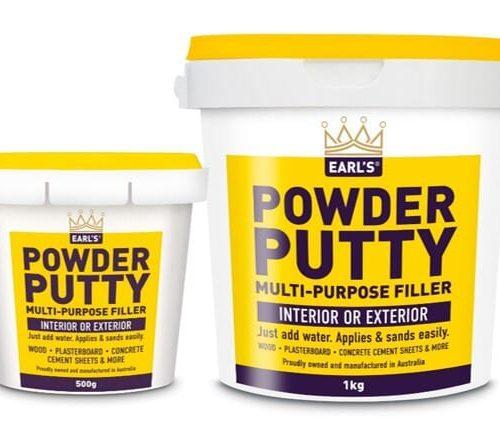Earls Powder Putty 500G