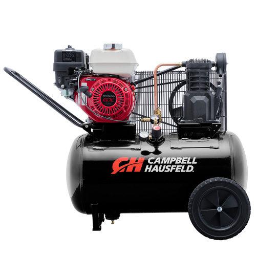 CAMPBELL HAUSFELD - COMPRESSOR CAMPBELL HAUSFELD 5.5HP PETROL HONDA ENGINE