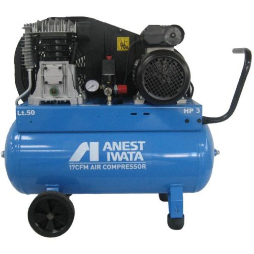 IWATA - COMPRESSOR ANEST IWATA 3HP SINGLE PHASE 50 LITRE NB30