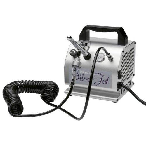 IWATA - AIR BRUSH COMPRESSOR ANEST IWATA SILVER JET & FILTER IS50
